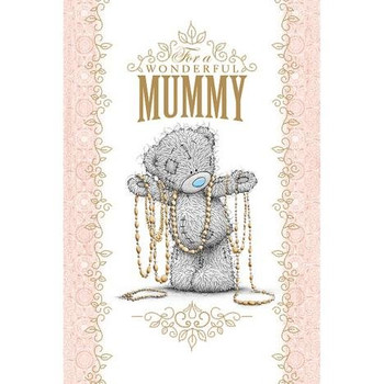 Wonderful Mummy Me to You Bear Mothers Day Card