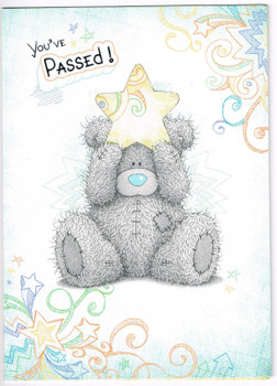 Me To You Passed Card - You've Passed Tatty Teddy Greetings Card