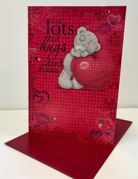 Me to You Tatty Teddy Bear - Valentines Day Card - Hugs & Kisses