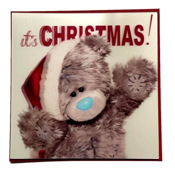 3D Holographic Its Christmas Me to You Bear Christmas Card