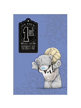 1st Fathers Day Me to You Bear Card