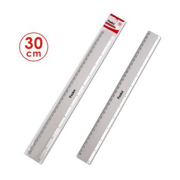 30cm Aluminium Ruler - Metal CM (mm) Inch Measurements