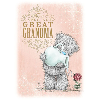 Me to you for a special great grandma mother's day card