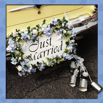 Just Married Up Close Amazing 3D Holographic Wedding Congratulation New Card