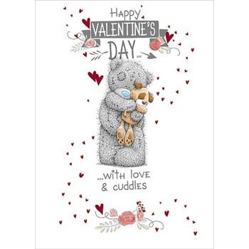 Me to You Happy Valentine's Day Dog Tatty Teddy Bear