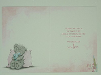 Adorable Me To You Bear Mum To Be New Greetings Card - Baby Shower