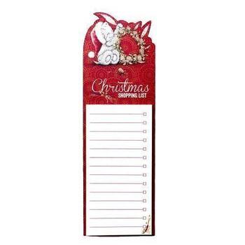 Magnetic Me to You Bear Christmas Shopping List
