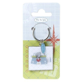 Me to You Fathers Day No 1 Dad Keyring - G01K0153