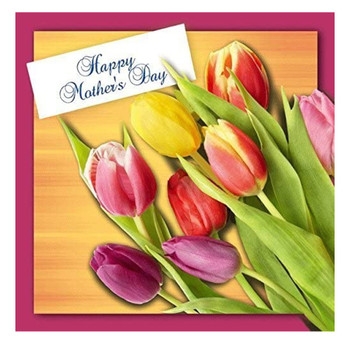 3D Holographic Anyone Happy Mother's day, Mother's day Greetings Card