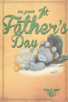 Me to You Father's Day Card - 1st Father's Day - First Tatty Teddy