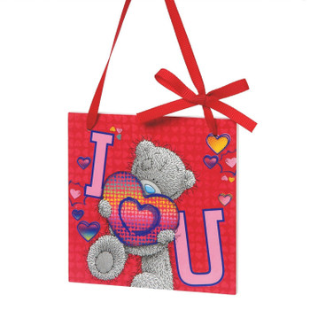 Me to You Tatty Teddy I Love You Wooden Wall Plaque, Multi-Colour