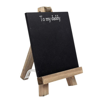 To My Daddy Personalisable Chalkboard Easel with Chalk