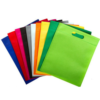 Blue Coloured 30x25cm Non Woven Bag with Carry Handles- Party Treat Goodie Gift Bag