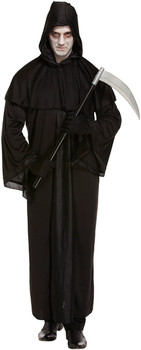 Adult Grim Reaper Death Fancy Dress Up Costume