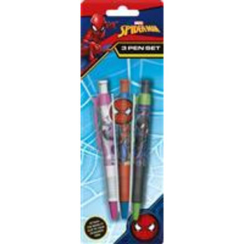 Spiderman 3 Pen Set With Novelty Icon