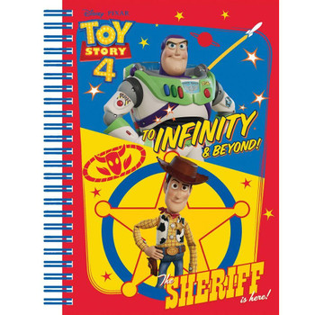 Toy Story 4 Hardcover Notebook