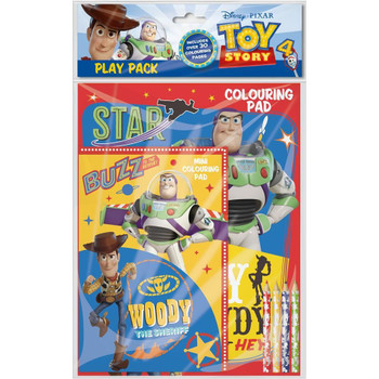 Toy Story 4 Colouring Play Pack
