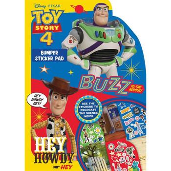 Toy Story 4 Bumper Sticker Pad
