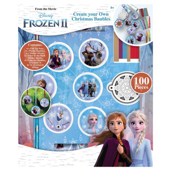 Frozen 2 Create Your Own Christmas Bauble