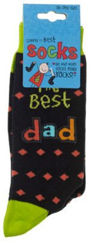 Simply The Best Dad Socks