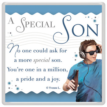 A Special Son Celebrity Style World's Best Magnet