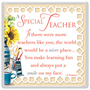 A Special Teacher Celebrity Style World's Best Magnet