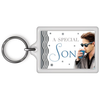 A Special Son Celebrity Style World's Best Keyring