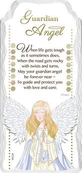 Guardian Angel Sentimental Handcrafted Ceramic Plaque