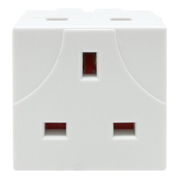 2 Way Mains Adaptor by Pifco