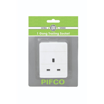 1 Gang Trailing Socket by Pifco