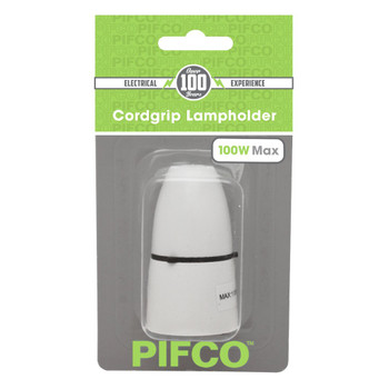Cord Grip Lampholder Max 100w by Pifco