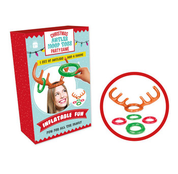 Antler Hoop Toss Christmas Party Game