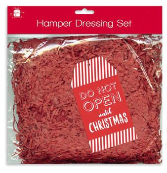 Christmas Gift Hamper Red Dressing Kit