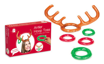 Christmas Party Antler Hoop Toss Game