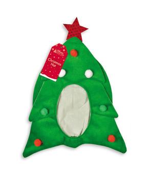 Christmas Tree Shape Face Hat