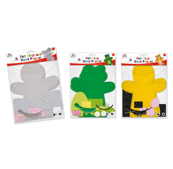 Create Your Own Hand Puppets Sewing Set