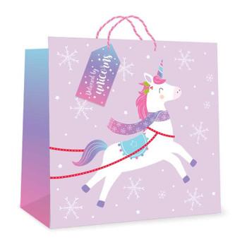 Unicorn Midi Jumbo Size Gift Bag