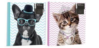 "Fun Animal Design Photos Album 5x7"""