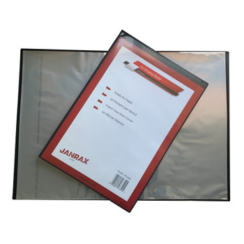 A2 20 Pockets Presentation Display Book by Janrax