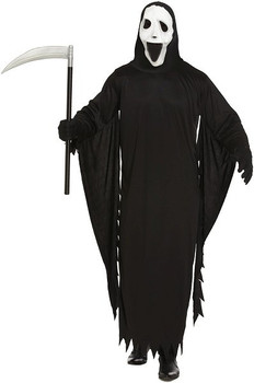 Demon Ghost One Size Adult Halloween Fancy Dress Costume