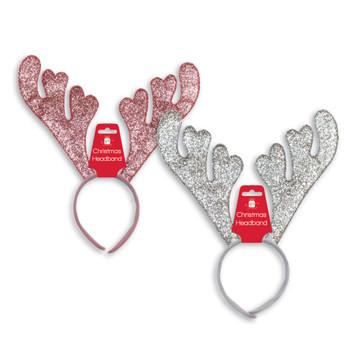Antler Glitter Christmas Headbands
