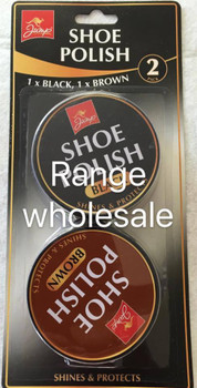 2 x Tins of Shoe Polish