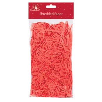 Christmas Red Shredded Tissue Paper