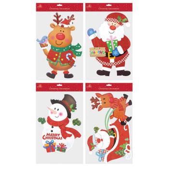 Christmas Cute Design Glitter Board Hanging Decoration