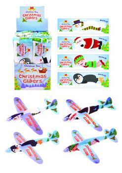 Christmas Flying Gliders 17cm