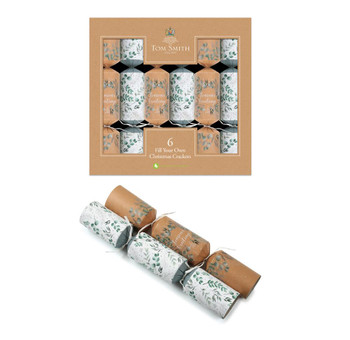 """Pack of 6 Fill Your Own 14"""" Christmas Crackers"""