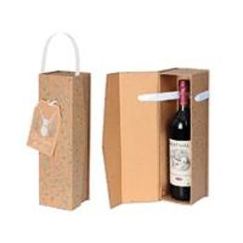 Woodland Wonder Design Christmas Bottle Box