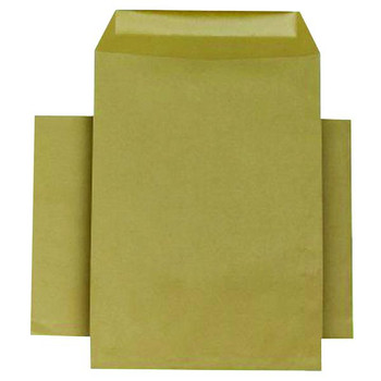 Pack of 250 C4 80gsm Gummed Manilla Pocket Envelopes