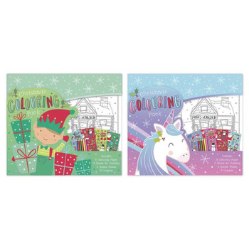 Large Christmas Colouring Pack