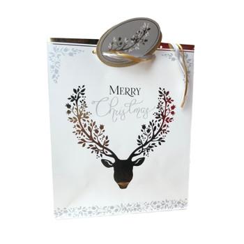 Christmas Classic Design Medium Gift Bag